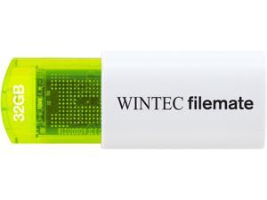 Wintec FileMate Mini Plus 32GB USB Flash Drive Model 3FMUSB32GMPGN-R