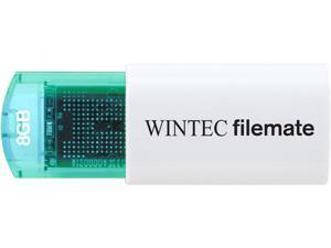 Wintec FileMate Mini Plus 8GB USB Flash Drive Model 3FMUSB8GMPBL-R