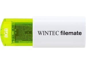Wintec FileMate Mini Plus 8GB USB Flash Drive Model 3FMUSB8GMPGN-R
