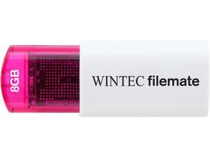 Wintec FileMate Mini Plus 8GB USB Flash Drive Model 3FMUSB8GMPRD-R