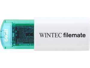 Wintec FileMate Mini Plus 64GB USB Flash Drive Model 3FMUSB64GMPBL-R