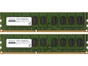 Wintec 8GB (2 x 4GB) 240-Pin DDR3 SDRAM DDR3 1333 (PC3 10600) Server Memory Model 3RSH13339E9-8GK