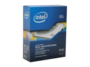 """Intel 320 Series 2.5"""" 80GB SATA II MLC Internal Solid State Drive (SSD) SSDSA2CW080G3B5"""