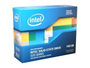 """Intel 320 Series 2.5"""" 160GB SATA II MLC Internal Solid State Drive (SSD) SSDSA2CW160G3K5"""
