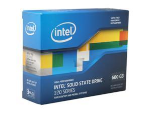 """Intel 320 Series 2.5"""" 600GB SATA II MLC Internal Solid State Drive (SSD) SSDSA2CW600G3K5"""