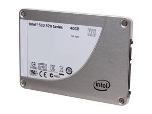 "Intel 320 Series 2.5"" 40GB SATA II MLC Internal Solid State Drive (SSD) SSDSA2BT040G301"