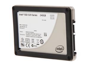 """Intel 520 Series Cherryville 2.5"""" 240GB SATA III MLC Internal Solid State Drive (SSD) SSDSC2CW240A310 - OEM"""