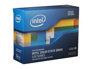 """Intel 520 Series Cherryville 2.5"""" 120GB SATA III MLC Internal Solid State Drive (SSD) SSDSC2CW120A3K5"""
