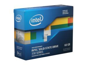 "Intel 330 Series Maple Crest SSDSC2CT060A3K5 2.5"" 60GB SATA III MLC Internal Solid State Drive (SSD)"