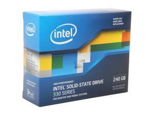 """Intel 330 Series 2.5"""" 240GB SATA III MLC Internal Solid State Drive (SSD) SSDSC2CT240A3K5"""