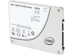 """Intel DC S3700 Series Taylorsville SSDSC2BA100G301 2.5"""" 100GB SATA III MLC Internal Solid State Drive (SSD)"""