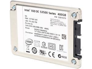 """Intel SSD DC S3500 Series 1.8"""" 400GB SATA III MLC Internal Solid State Drive (SSD) SSDSC1NB400G401"""