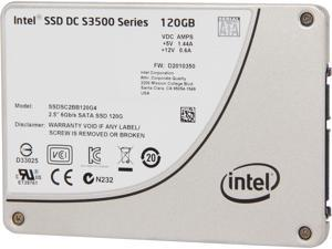 "Intel DC S3500  Series 2.5"" 120GB SATA III MLC Internal Solid State Drive (SSD) SSDSC2BB120G401"