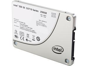 """Intel DC S3710 2.5"""" 200GB SATA III MLC Internal Solid State Drive (SSD) SSDSC2BA200G401"""