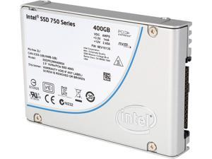 "Intel 750 Series 2.5"" 400GB PCI-Express 3.0 x4 MLC Internal Solid State Drive (SSD) SSDPE2MW400G4X1"