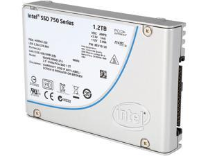 "Intel 750 Series 2.5"" 1.2TB PCI-Express 3.0 x4 MLC Internal Solid State Drive (SSD) SSDPE2MW012T4X1"
