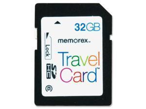 Memorex TravelCard 98690 32 GB Secure Digital High Capacity (SDHC) - 1 Card