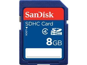 SanDisk 8GB Secure Digital High-Capacity (SDHC) Flash Card Model SDSDB-8192-A11