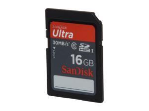 SanDisk Ultra 16GB Secure Digital High-Capacity (SDHC) Flash Card Model SDSDRH-016G-A11