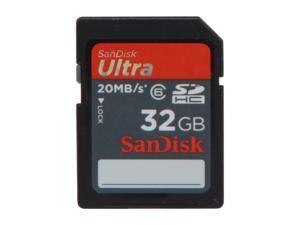 SanDisk Ultra 32GB Secure Digital High-Capacity (SDHC) Flash Card Model SDSDRH-032G-A11
