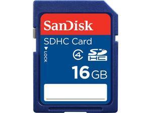 SanDisk 16GB Secure Digital High-Capacity (SDHC) Flash Card Model SDSDB-016G-A11