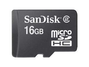SanDisk 16GB microSDHC Flash Card Model SDSDQ-016G-P36A