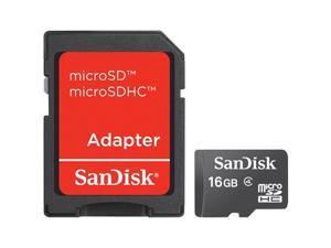 SanDisk SDSDQ-16384 16 GB MicroSD High Capacity (microSDHC) - 1 Card