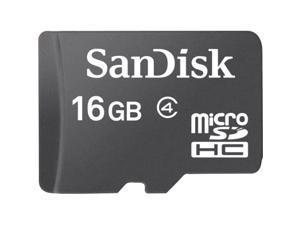 SanDisk 16 GB microSD High Capacity (microSDHC) - 1 Card