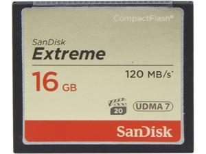 SanDisk 16GB Compact Flash (CF) Flash Card Model SDCFXS-016G-A46