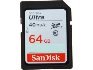 SanDisk Ultra 64GB Secure Digital Extended Capacity (SDXC) Flash Card - Global Model SDSDUN-064G-G46