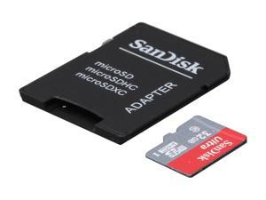 SanDisk Ultra 32GB microSDHC Flash Card with adapter – Global Model SDSDQUAN-032G-G4A