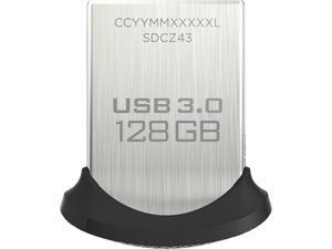 SanDisk 128GB Ultra Fit CZ43 USB 3.0 Flash Drive, Speed Up to 150MB/s (SDCZ43-128G-GAM46)