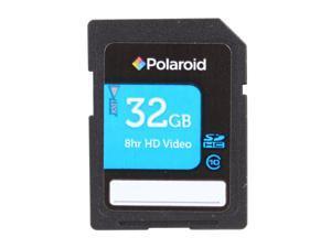 PNY Polaroid 32GB Secure Digital High-Capacity (SDHC) Flash Card Model P-SDHC32G10-EFPOL