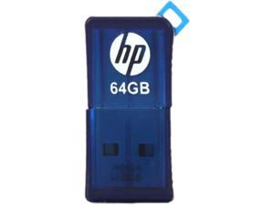 HP 64GB v165w USB Flash Drive Blue