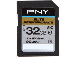 PNY Elite Performance 32GB Secure Digital High-Capacity (SDHC) Flash Card Model P-SDH32U1H-GE