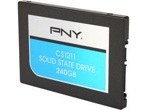 "PNY CS1211 2.5"" 240GB SATA III MLC Internal Solid State Drive (SSD) SSD7CS1211-240-RB"