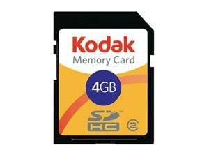 Lexar Kodak 4GB Secure Digital High-Capacity (SDHC) Flash Card Model KSD4GBPSBNA