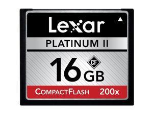 Lexar 16GB Compact Flash (CF) Flash Card Model LCF16GBSBNA200