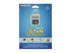 OLYMPUS 2GB TYPE M+ xD-Picture Flash Card Model 202249P