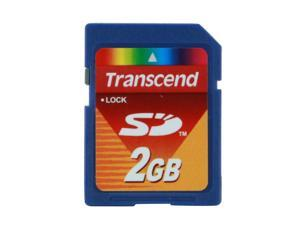 Transcend 2GB Secure Digital (SD) Flash Card Model TS2GSDC