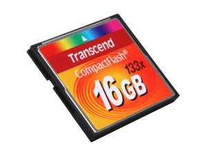 Transcend 16GB Compact Flash (CF) Flash Card Model TS16GCF133