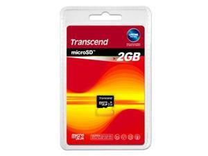 Transcend 2GB MicroSD Flash Card - Card Only
