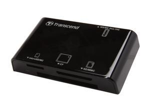 Transcend TS-RDP8K USB 2.0 Support CF, SD, SDHC, SDXC, microSD, microSDHC, Memory Stick, MMC, MMCplus, RS-MMC and MMCmobile.  All-in-One Multi Card Reader