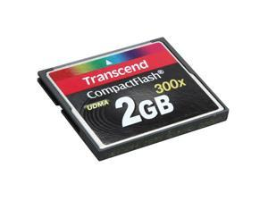 Transcend 2GB Compact Flash (CF) Flash Card Model TS2GCF300