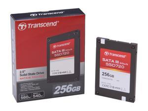 "Transcend SSD 720 2.5"" 256GB SATA III Internal Solid State Drive (SSD) with Desktop Upgrade Kit"