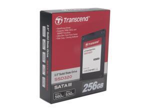 """Transcend 2.5"""" 256GB SATA III Internal Solid State Drive (SSD) TS256GSSD320"""