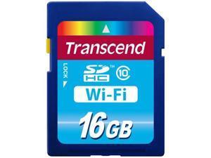 Transcend 16GB WiFi-SDHC Flash Card Model TS16GWSDHC10