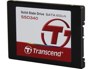 """Transcend SSD340 2.5"""" 128GB SATA III MLC Internal Solid State Drive (SSD) TS128GSSD340"""