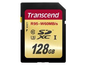 Transcend Ultimate 128GB Secure Digital Extended Capacity (SDXC) Flash Card Model TS128GSDU3