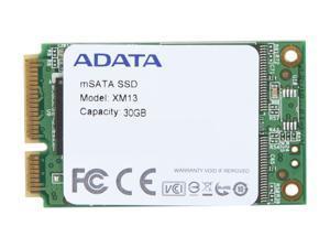 ADATA XM13 AXM13S2-30GM-C 30GB Mini-SATA (mSATA) MLC Internal Solid State Drive (SSD)